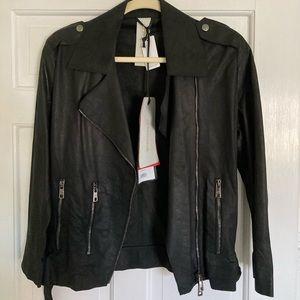 Giorgio Brato paper leather jacket